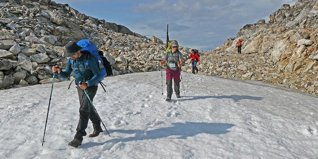 Trekking East-Greenland