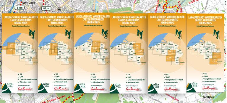 Alta Via kaarten