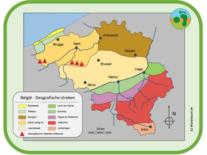 Geografische streken België