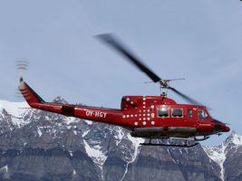 Rescue helikoper, Groenland