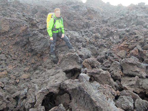 Magni en Modi, messcherpe nieuwe lava