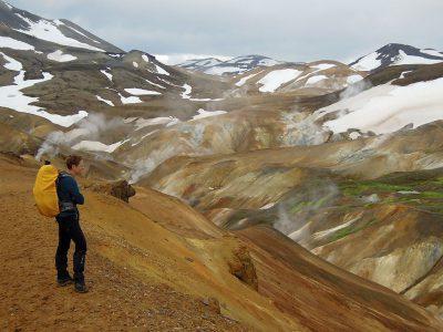 IJsland wandelen