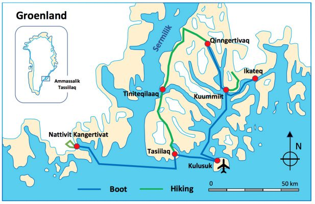 East-Greenland Trekking