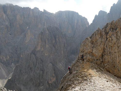 Oskar Schuster klettersteig